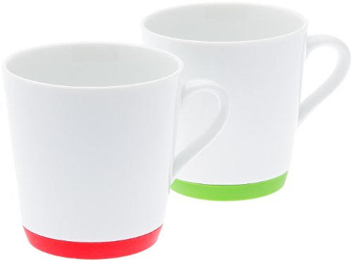 ms-style-amazoncojp-limited-gcc-silicon-sole-mug-red-and-green-set-of-two-ms-50127-japan-import