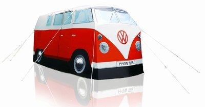 ERRO VW Bulli Zelt rot, Camping Bus Zelt T1 - Das Original
