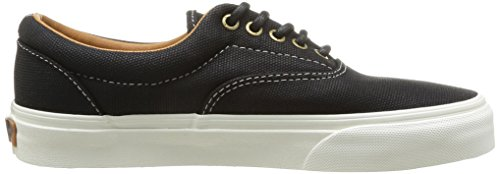Vans U Era, Baskets mode mixte adulte Noir (Black)