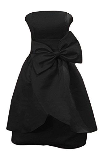 Missdressy - Robe - Trapèze - Femme Noir - Noir