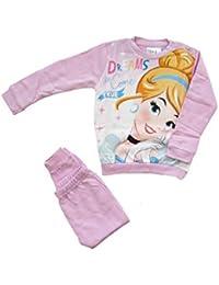 ce2105c696 ARNETTA Disney Baby Pigiama neonata Princess Invernale, Felpato all'Interno  - Art. 45724