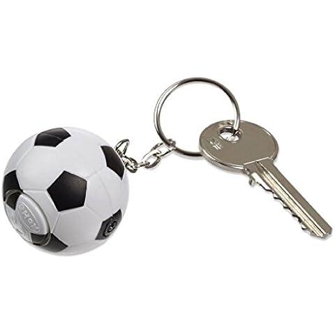 120db Anti-lobo Autoprotección Sistema de Alarma de Seguridad Autodefensa Personal Llavero Forma de Fútbol