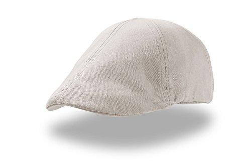 GA-STR-3 Gatsby Flatcap Schiebermü?tze Cap Schirmmütz?e Sportmütze Golfmütze für Damen und Herren geeignet beige