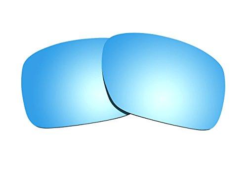 Sunnyblue2 Ice Blau Polarisierte Ersatz Gläser für Oakley Turbine Sonnenbrille