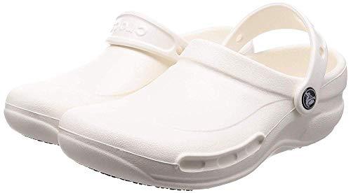 crocs Unisex Shoes Bistro White Colour: White, Size: 8-9