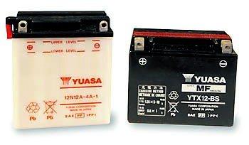 Batterie Yuasa YB 14L-B2, ohne Säurepack