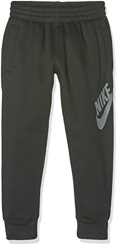 Nike - Everett, Pantaloni sportivi Bambino, Nero (Black/Tumbled Gre Anni), Large (Taglia Produttore: 12-13 Anni)