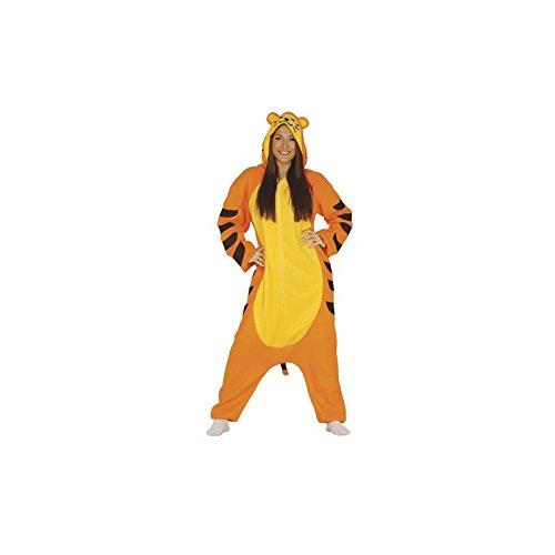 Tiger Kostüm für Damen Gr. M/L, (Kostüme Katzen Dschungel)