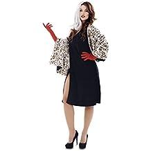 My Other Me - Disfraz de Malvada Cruella, talla M-L (Viving Costumes MOM00800)