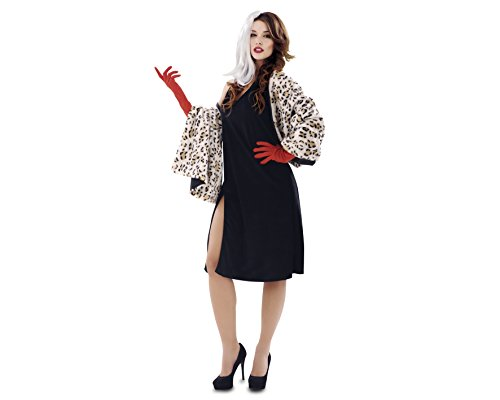 My Other Me - Disfraz de Malvada Cruella, talla M-L (Viving Costumes MOM00800)