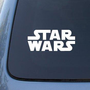 Bumper Sticker/Adesivi film di Star Wars Logo-in vinile, auto, camion, NOTEBOOK, # 2527