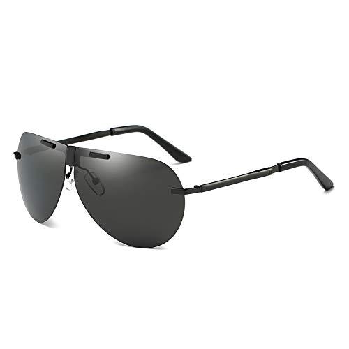 TISESIT Zusammenklappbare, Faltbare Style Sonnenbrille mit Hartschalenbezug,A