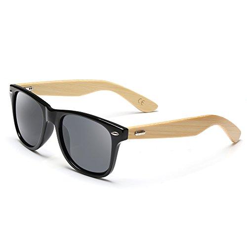 a97e9a187d Gafas de sol de bambú, Gafas de sol de madera hechas a mano, vidrios