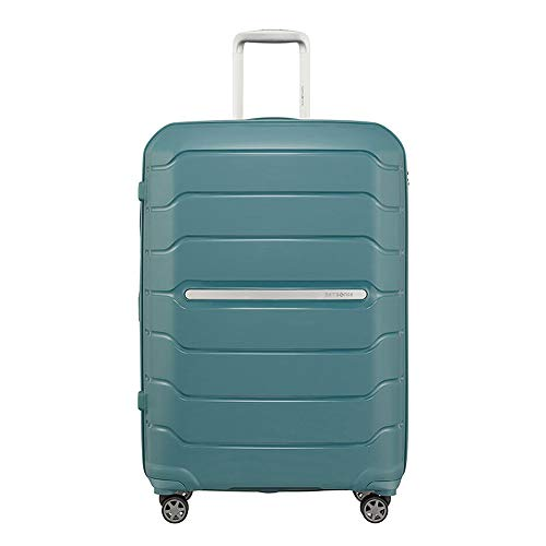 Samsonite 88539-1041 Trolley Flux 75 Rigid, Bleu