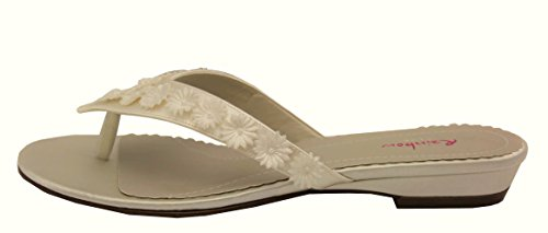 Elsa Coloured Shoes, Mocassini donna Avorio 41,5 (Avorio)
