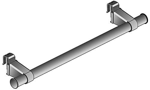 Kermi Handtuchhalter Flachheizkörper, L=600mm, weiß