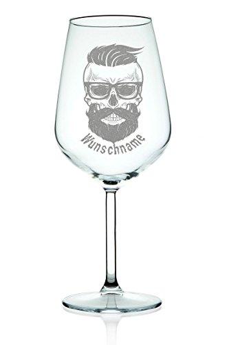 'Leonardo Verre à vin Hipster 2.0 avec nom Gravure – Lustiges & cadeau original pour les hommes – Cadeau Pour Vin genießer & Meilleur Ami