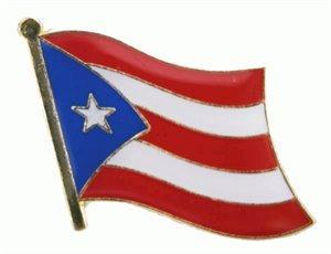 Yantec Flaggenpin Puerto Rico Pin Flagge -