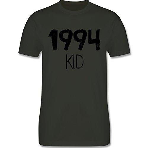 Geburtstag - 1994 KID - Herren Premium T-Shirt Army Grün