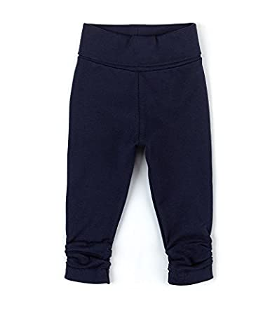Sigikid Baby-Mädchen Leggings Leggin, Blau (Peacoat 260), 80