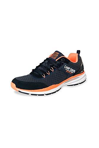 Camp David Herren Running Sneaker aus Mesh