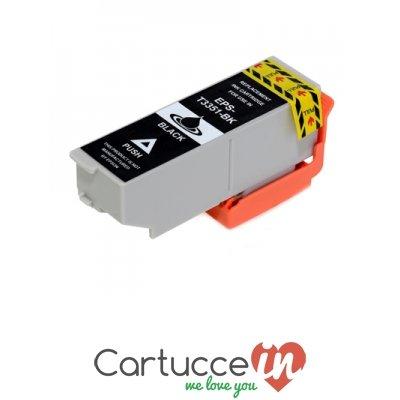Galleria fotografica Cartuccia compatibile Epson T3351 nera modello Arancio 33 XL