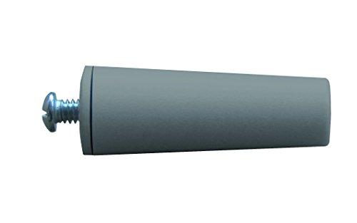 Schellenberg 52012 Tope para persianas (60 mm), Color Gris