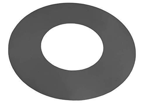 Blackorange - Plaque de Cuisson en Acier avec Trou pour brasero de 100 cm de diamètre - Plaque de Cuisson : extérieur Ø 102 cm, Trou de feu Ø 50 cm