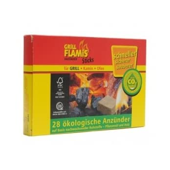 Grill Flamis Anznder 28 Sticks