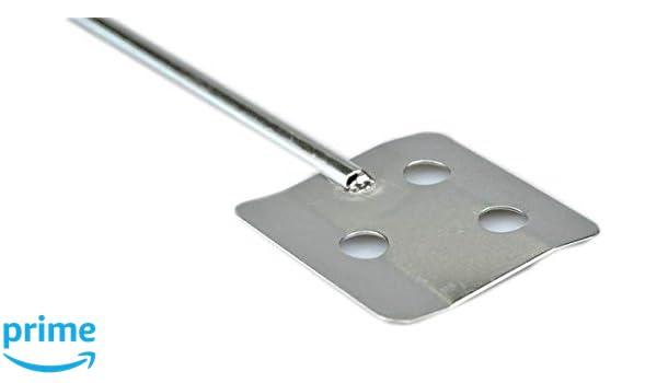 6.8 cm Diameter Stainless Steel 316 L 40 cm Shaft Length Camlab 1189964 Blade Stirrer
