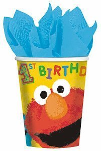 sesame-street-1st-9-oz-paper-cups-party-accessory