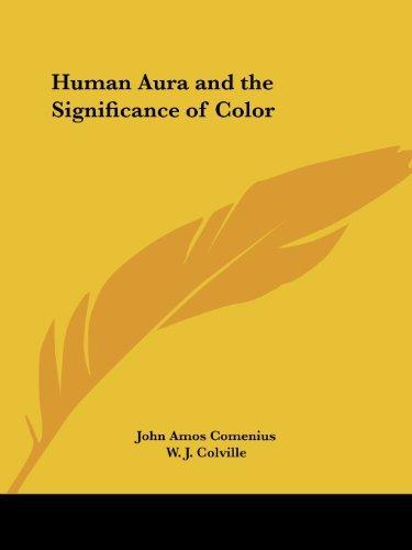 Human Aura by W.J. Colville (1996-04-01)