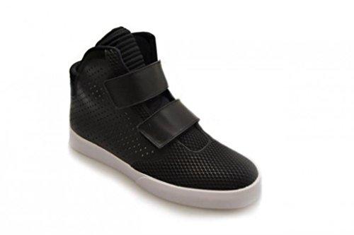 Nike Herren Flystepper 2K3 Basketballschuhe, Bunt Black (Schwarz / Anthrazit-Anthrazit)