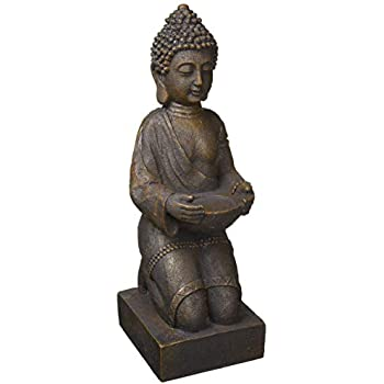 the different design Tinas Collection BUDDHA LANTERN 44x14x16CM SYNTHETIC RESIN GREY FENG SHUI ARTICLE NEW