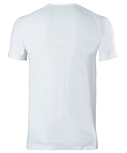 FALKE–Maglietta intima calda a maniche corte Uomo Comfort bianco