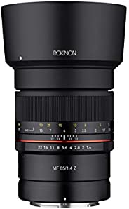 Rokinon - Z85-N 85mm F1.4 Weather Sealed High Speed Telepoto Lens for Nikon Z Mirrorless Cameras