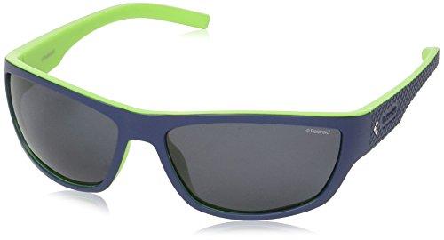 Polaroid Herren PLD 7007/S C3 RNB 63 Sonnenbrille, Blau (Bluette Green/Grey Pz),