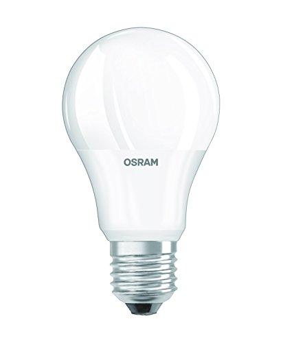 Osram LED Star Classic A Lampe, in Kolbenform mit E27-Sockel, nicht dimmbar, Ersetzt 60 Watt, Matt, Kaltweiß - 4000 Kelvin, 1er-Pack -