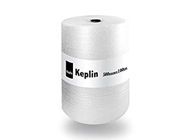 500mm x 100m Roll of Premium Quality Bubble Wrap Roll (Small Bubbles) Made in The UK