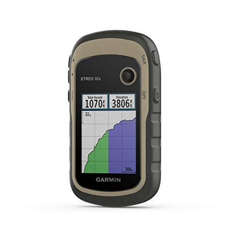 "Garmin ETREX 32x - Navigatore portatile a colori da 2,2"" e mappa TopoActive preinstallata"