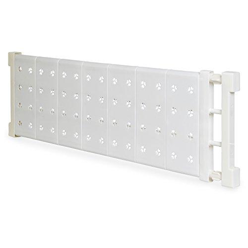 Schrank Regal Ecke (Verstellbarer Universal Regalboden - Weiß Verstellbar 73-130 cm - Teleskop Regaleinlage für Schränke und Duschecke)