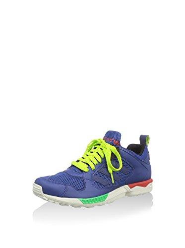 Adidas, Das Sapatilhas Dos Homens Azul Marino / Lima Blanco