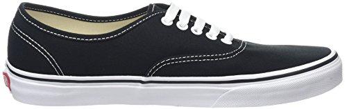 Vans Authentic, Scarpe Sportive-Skateboard Unisex – Adulto Nero (Black/White)