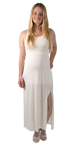Attesa Kleid Linea Dress Hochzeitskleid Made in Italy Umstandskleid Brautkleid