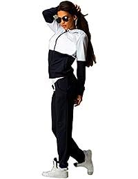 Baymate Mujer 2pcs Chándal Casual Conjuntos Deportivos Sweatshirt Sudadera Pantalones