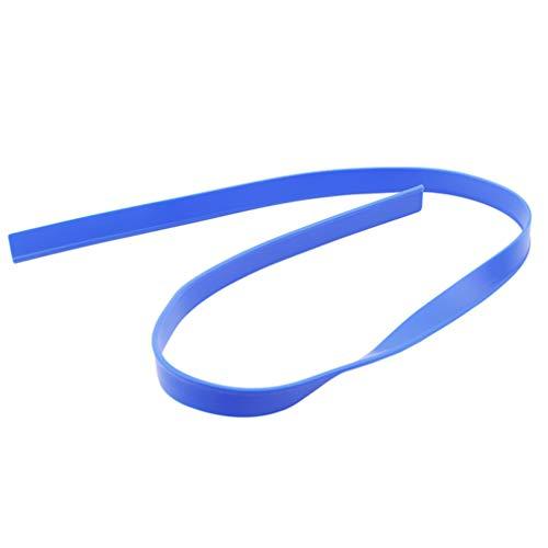 LIGHTBLUE Auto-Wischblatt-Scheibenwischerblätter Universal-Ersatzwischerblätter für Ersatzfahrzeuge Ersatzgummis, blau