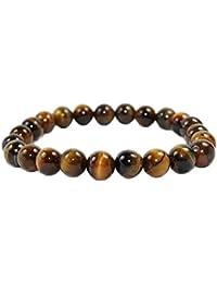 0c5fffc1b26a Pulsera de 23 perlas en Ojo de tigre - pulsera de protección