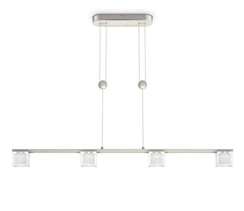 Philips Suspension LED Chrome Tibris Luminaire d'intérieur