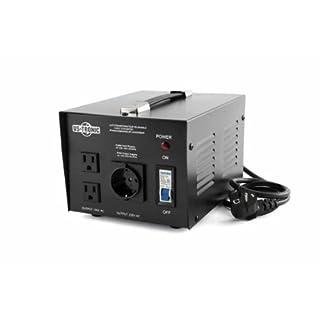 Spannungswandler 220V-100V 1000W umkehrbar für Japan von US-Tronic