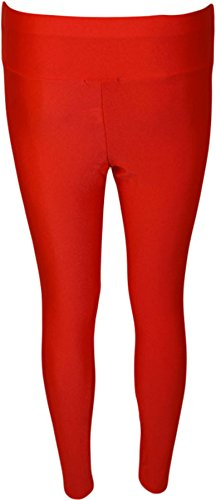 WearAll - PVC - Leggings - Femme - Tailles 34-42 Rouge